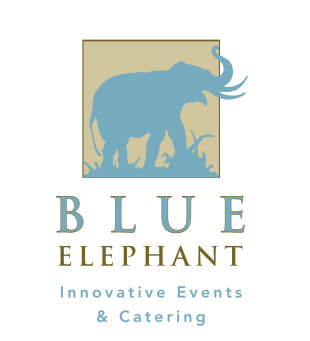 Blue Elephant Logo