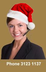 Christmas Receptionist