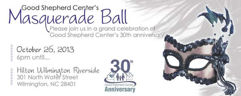 good shepherd center masquerade ball october 26 hilton wilmington riverside