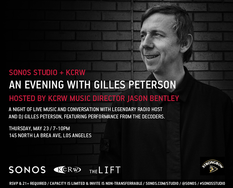 An Evening with Gilles Peterson