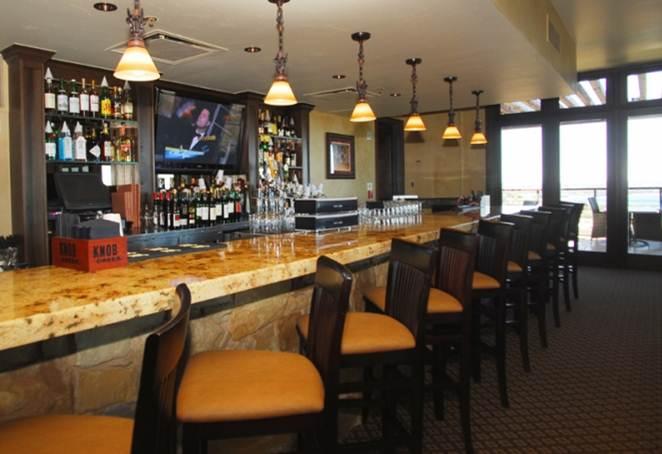 Steiner 2nd floor bar