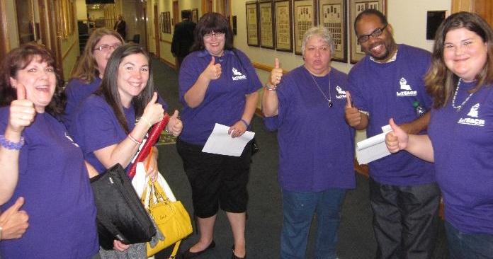 LaTEACH members at Capitol 5.15.13
