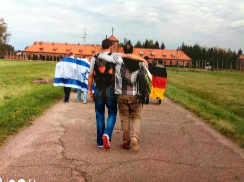 German and Jew Hand in Hand