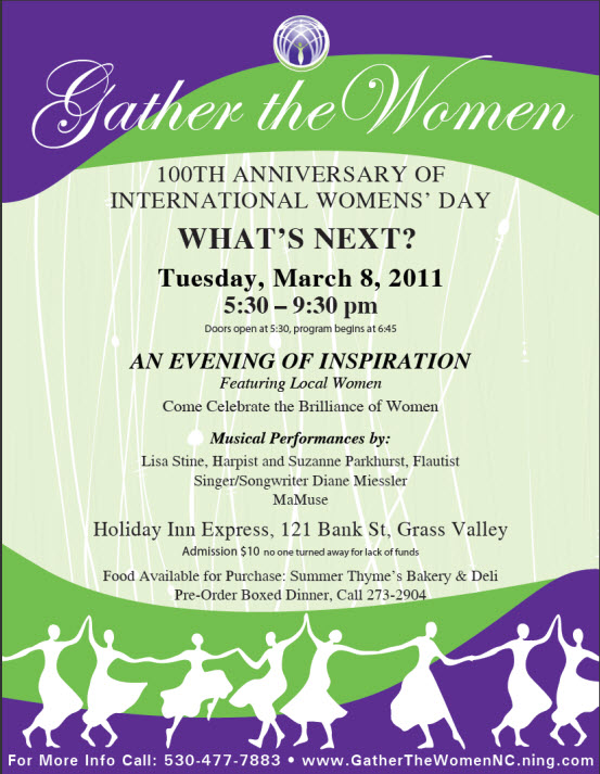 GTW Int'l Women's Day poster 2011