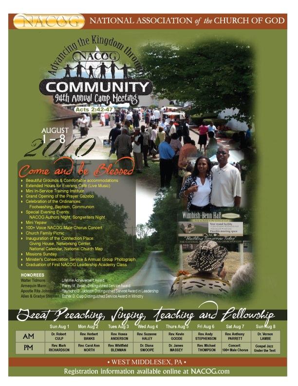 2010 Camp flyer