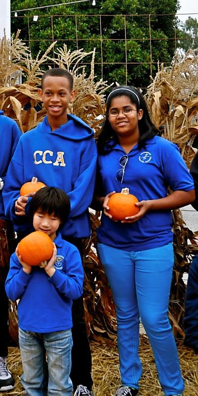 Buddies at Pumpkin Patch