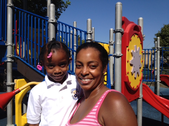 Keli and her daughter, Tyler
