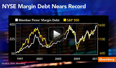 NYSE Margin Debt Nears Record