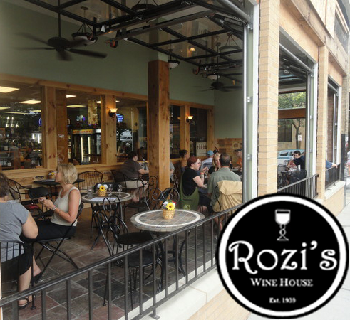 Rozi's storefront with logo