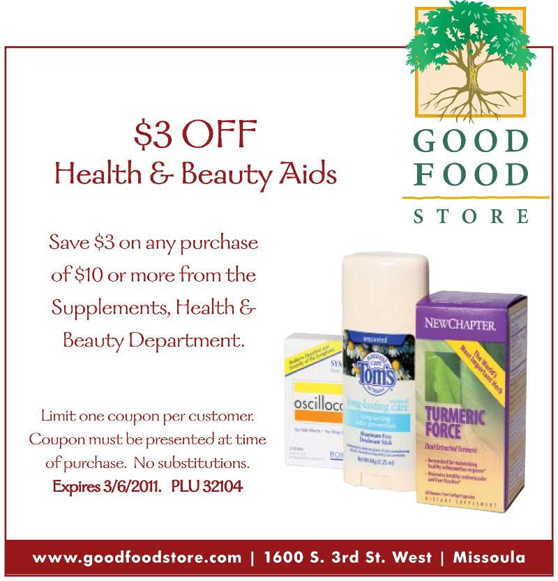 graphic relating to Gfs Coupons Printable referred to as GFS Coupon: $3 off any $10 Conditioning Magnificence Buy