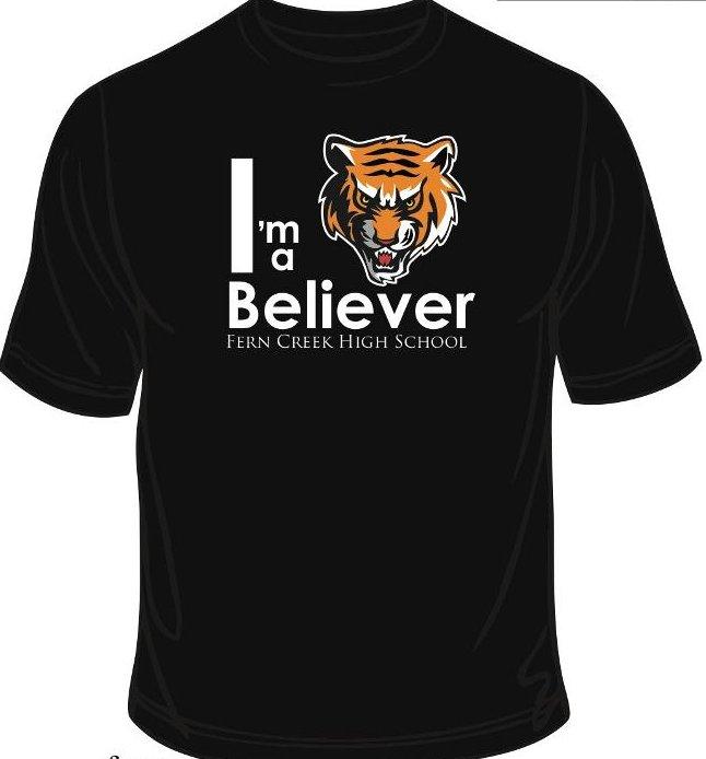 Believer t shirt design