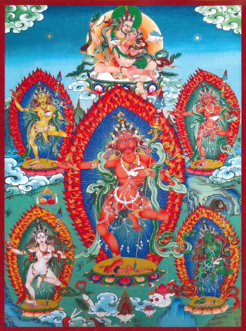 Sangwa Yeshe Thangka by Gyurme