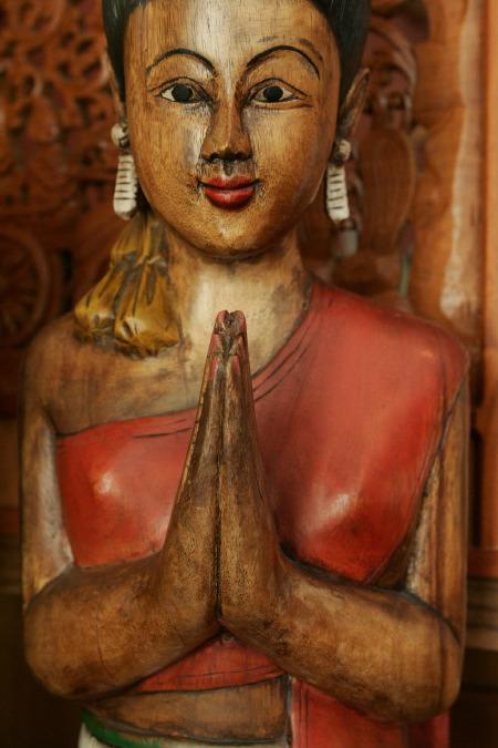 Thai Lady Statue