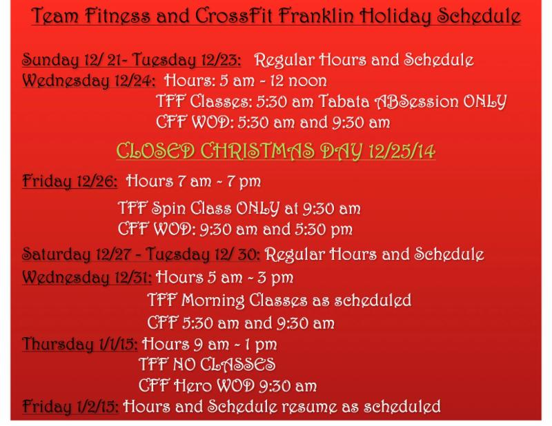 TeamFitness and CrossFit Franklin