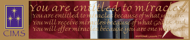 You Are Entitled to Miracles