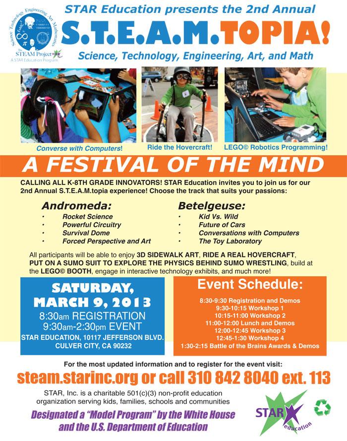 STEAMtopia Flyer
