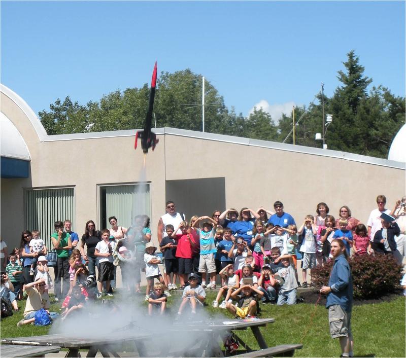 Summer Rocket Launch