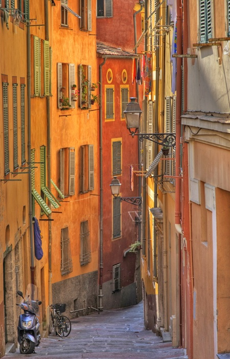 Back Streets in Nice