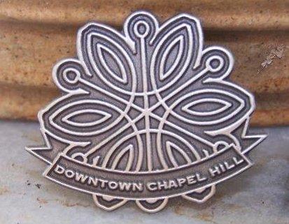 Downtown Snowflake Pin