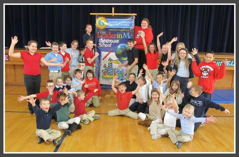Blessed Sacrament Students 2013 Lighthouse School