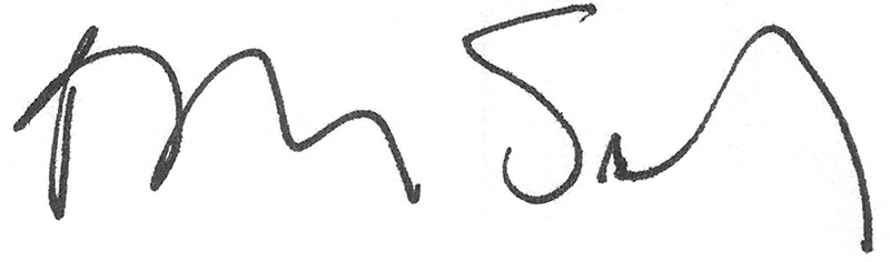 Barbara Salisbury's signature