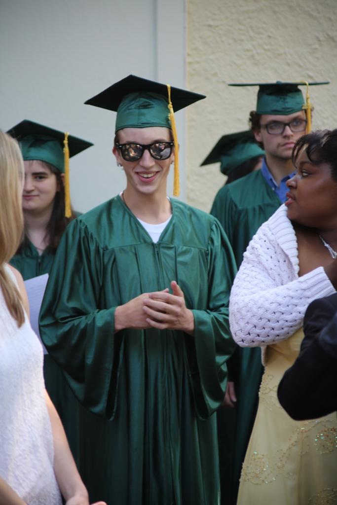 Students graduate