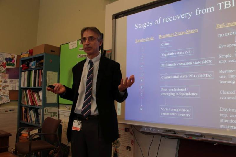 Dr. Doug Katz discusses the stages of recover from TBI
