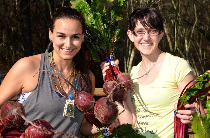 Carla and Sharon