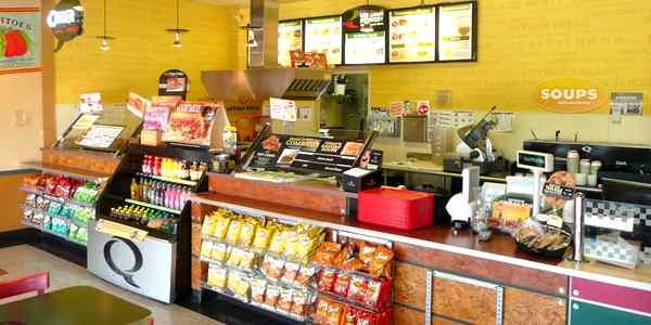 HIGH Volume Quiznos Subs for Sale - San Antonio, Texas