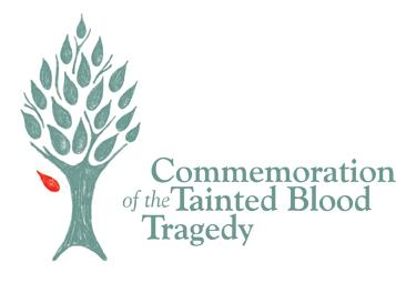 tainted blood tragedy logo