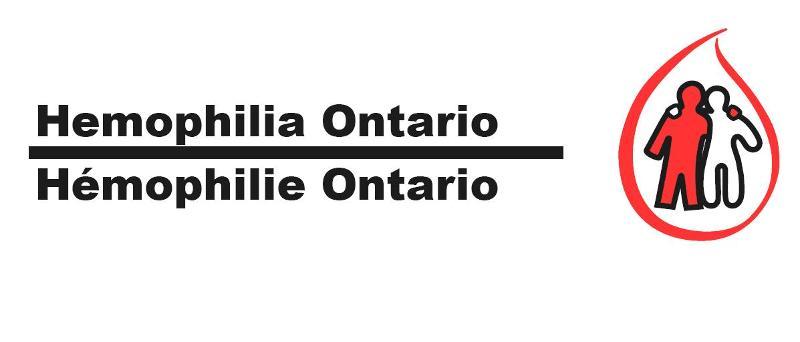 Hemophilia Ontario logo