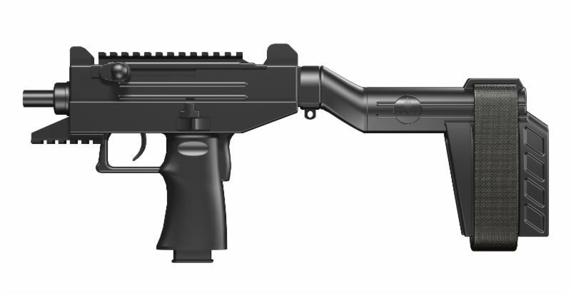 IWI US UZI PRO Pistol with Stabliizing Brace