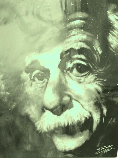 Spooky Einstein