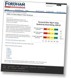 Thomas B. Fordham Institute web site