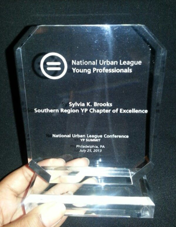 2013 Sylvia K. Brooks Southern Region Chapter of Excellence
