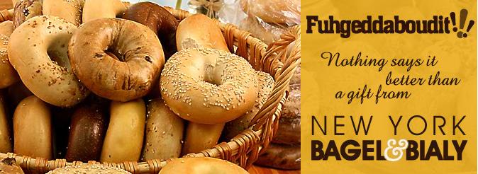 eat bagels and fugheddaboudit!
