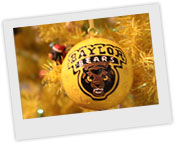 Baylor Christmas Tree Ornaments