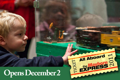 All Aboard the Mayborn 