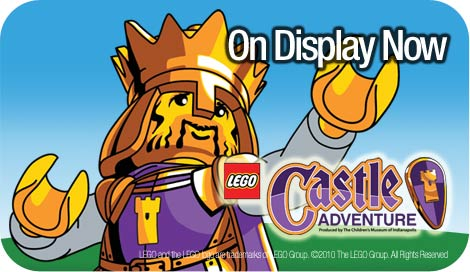 LEGO Castle Adventure Now On Display