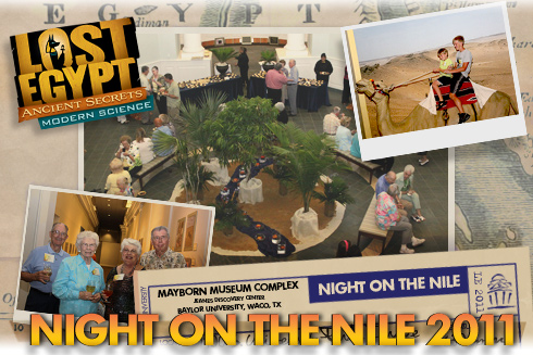 Night on the Nile at the Mayborn 