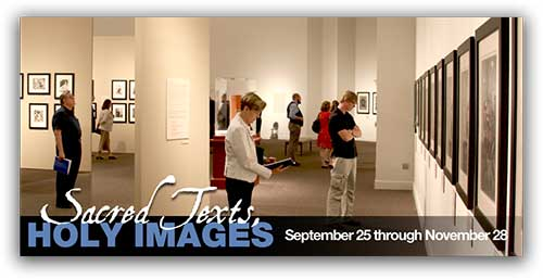 Sacred Texts, Holy Images Now Open Through 