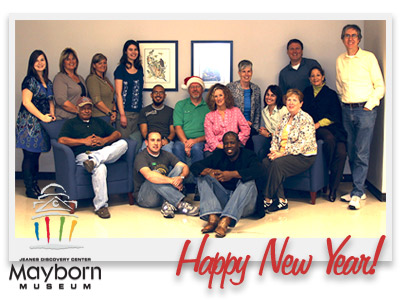 Happy New Year from the Mayborn Museum 
