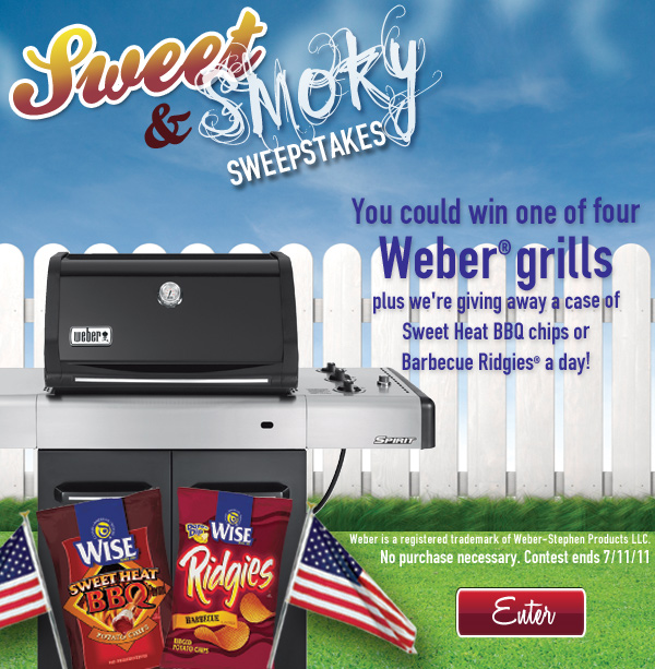 Sweet and Smoky Sweepstakes