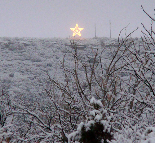 Star on Gail Mountain