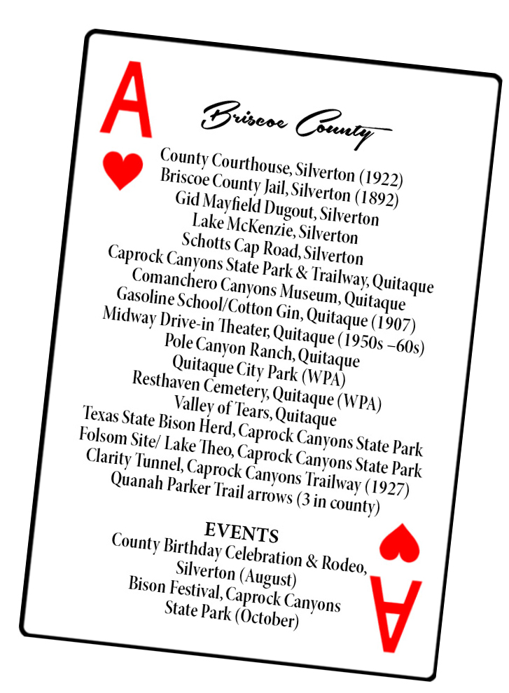 Ace of Hearts Briscoe