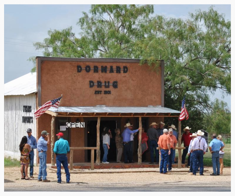 Dorward Drug store, Gail, Texas