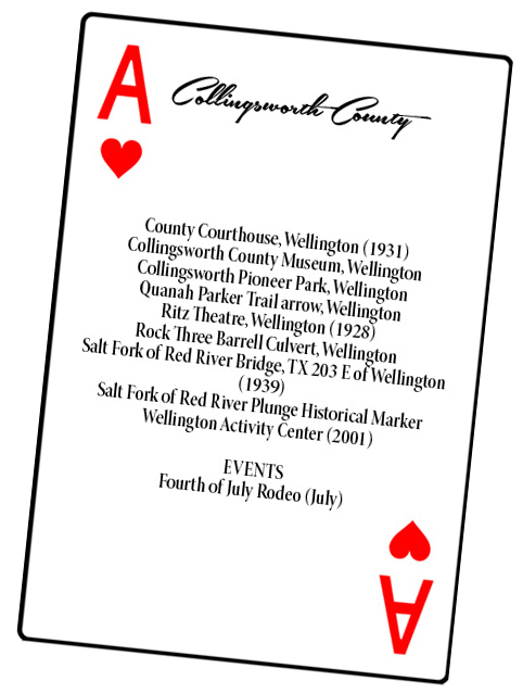 Collingsworth County card
