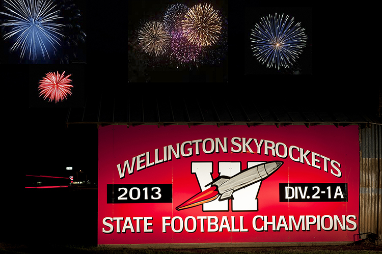 Wellington Skyrockets, 2013 Texas state football champions