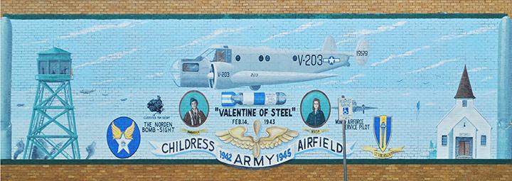 Childress mural