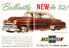 1952 Chevy ad